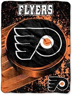 The Northwest Company Officially Licensed NHL Philadelphia Flyers Ice Dash Micro Raschel Throw Blanket, 46