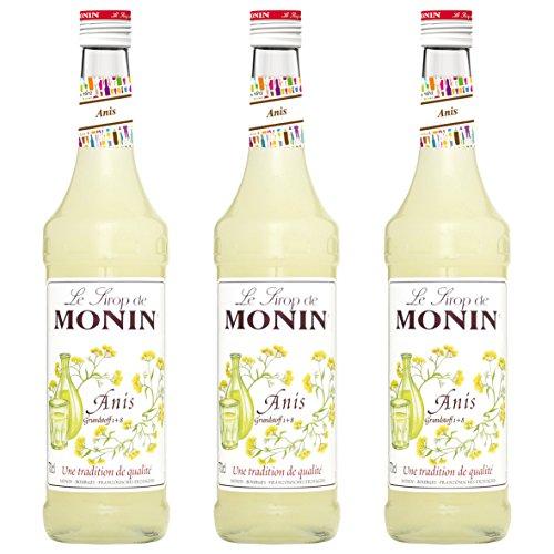 Monin Sirup Anis 0,7l 3er Pack