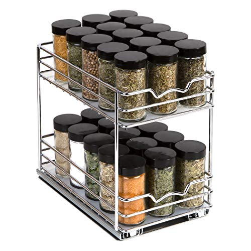 Pull Out Spice Rack Organizer for Cabinet –...