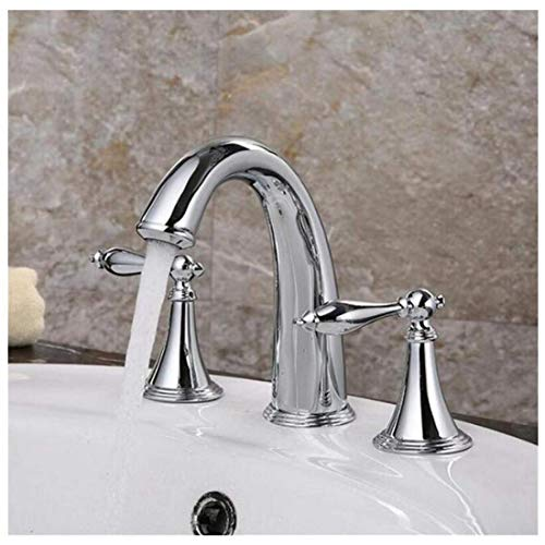 Ctzl5082 - Grifo mezclador para cocina, baño, jardín, cascada, 3 piezas