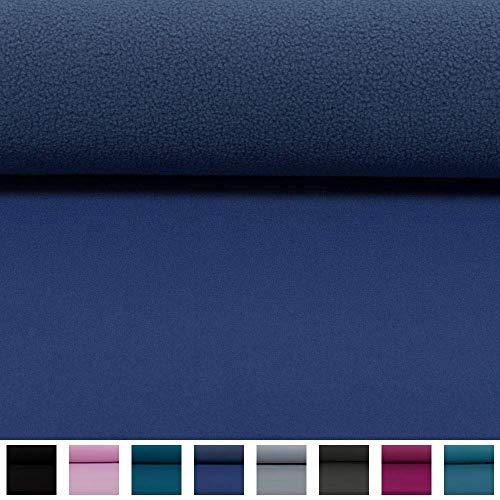 Swafing Wasserabweisender Nano Softshell Programm Lenny Jeansblau (25cm x 140cm)