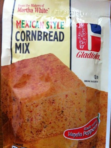 Gladiola Mexican Style Cornbread Mix 6 Oz. (Pack of 3)