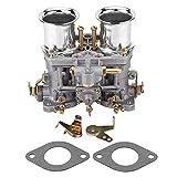 Carburador, Motor de Carburador de Carburador con 2 Juntas de Repuesto para Bug Beetle WEBER 40 IDF para Kit de Carburador Doble Vw Carburador para Carburador WEBER 40 IDF Carburador de Carburador
