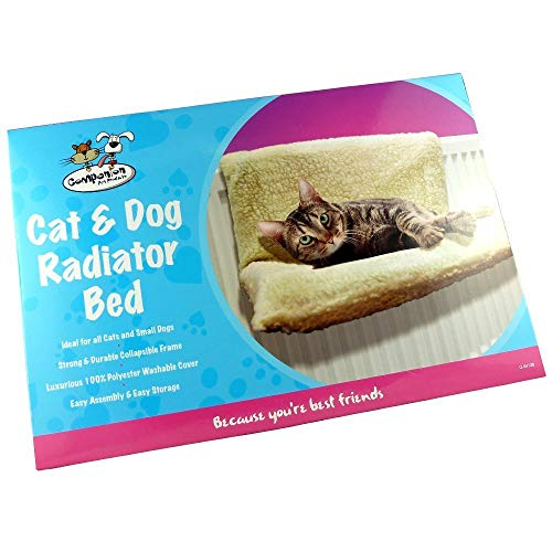 companion Cat, Kitten & Small Dog Radiator Sleeping Bed