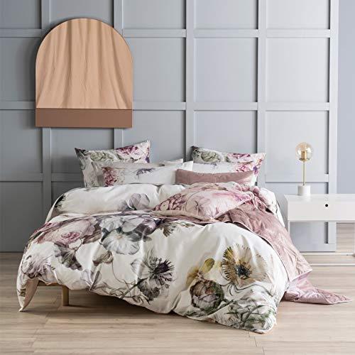 Linen House Ellaria Bettbezug-Set, Mehrfarbig, 230 x 220cm
