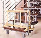 Trixie 3944 Hunde-Absperrgitter für Treppen und Türen, 63-108 x 50 x 31 cm - 4