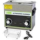 Commercial Ultrasonic Cleaner 3L, ONEZILI 120W Ultrasonic Carburetor Cleaner, Sonic Cleaner with Heater for Cleaning Jewelry, Glasses, Circuit Board, Parts, Tattoo Equipment, Fuel Injector, Brass, etc