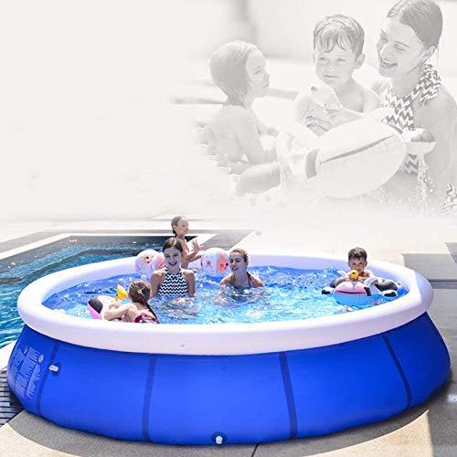 ZYUN Piscina Inflable De Tamaño Completo Piscinas Piscinas Inflables para Niños para Bebé, Niño, Edades Adultas 3+ Jardín Al Aire Libre Partido
