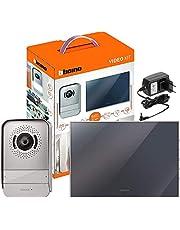 Bticino 317013 Video telefoon, in spiegel design, tweedelige set: individueel/familie