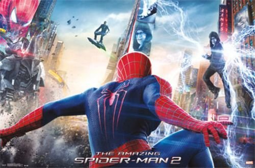 Trends International Amazing Spider-Man 2 Movie Poster - One Sheet 34'x22' Art Print Poster