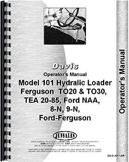 Ford 9N Davis 101 Loader Attachment Operators Manual