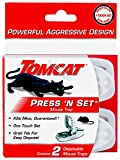 Tomcat Press 'N Set Mouse Trap, 2 Traps