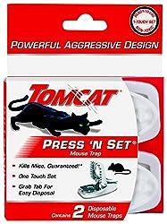 cheap Tomcat Press'N Set Mouse Trap, 2 Trap