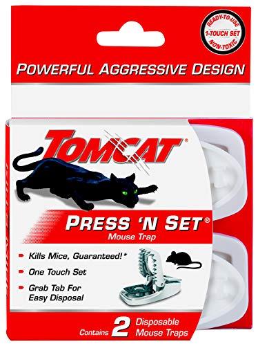 Tomcat Press  N Set Mouse Trap, 2 Traps