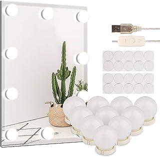 Vegena Make-uptafelverlichting, led-spiegellamp, make-uplicht, spiegellamp voor make-upspiegel, cosmeticaspiegel, badkame...