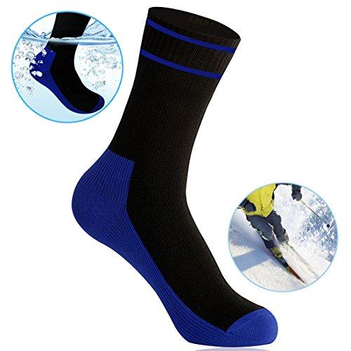WATERFLY wasserdichte Ultraleichte Atmungsaktive Kniestrümpfe Socken zum Angeln Wandern Klettern Joggen Discgolf und für Motorrad Trips