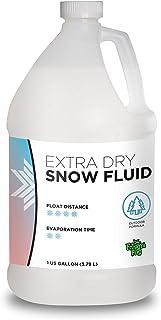 Froggys Flakes – Jugo de nieve extra seco – Líquido para máquina de nieve – Fórmula evaporativa – 1 galón