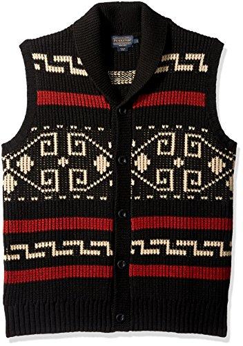 Pendleton Men Shetland Shawl Collar Cardigan Sweaters