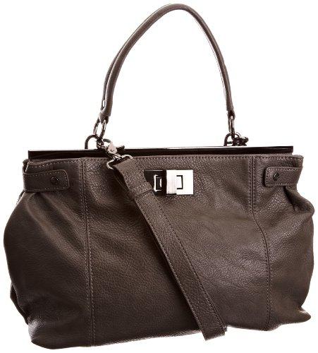 Mexx 3FRE16802, Damen Handtasche, Grau (Slate)