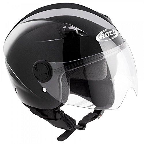 Büse Jet Helm ROCC 140 schwarz, Größen:L - 59/60