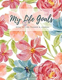 My life goals (Gold Setting Planner and Journal) V.2: A Productivity Planner and Motivational Book - Goal Journal and Comm...