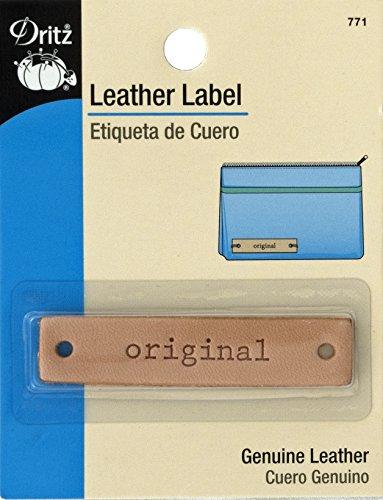 Dritz Cuir Label-Rectangle-Original-1 CT, Original-Rectangle