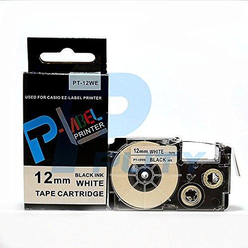 Compatibile con XR-12WE nero su bianco, 12 mm, 8 m, KL60 KL120 XR-12WE1 (nero su bianco)