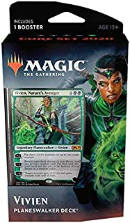 Magic The Gathering: MTG: Core Set 2020 Planeswalker Deck - Vivien w/Booster Pack (Green)