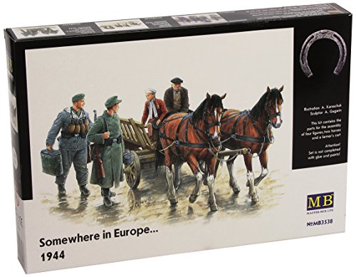 Masterbox 1:35 - Somewhere in Europe 1944 - MAS3538