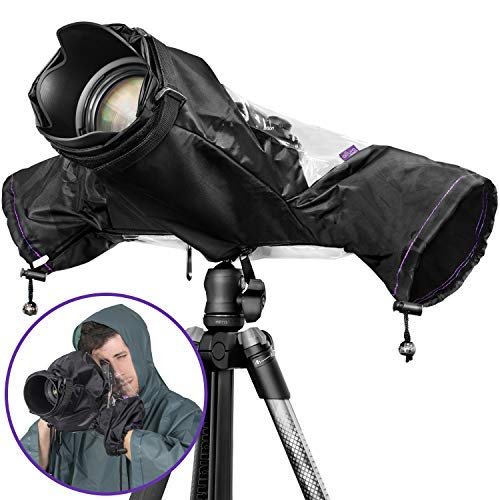 Altura Photo Professional Camera Rain Cover for Canon Nikon Sony DSLR & Mirrorless Cameras - Altura Photo Camera Accessories for Photography Rain Gear