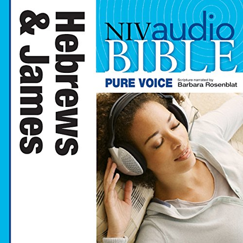 Pure Voice Audio Bible - New International Version, NIV (Narrated by Barbara Rosenblat): (10) Hebrews and James audiobook cover art