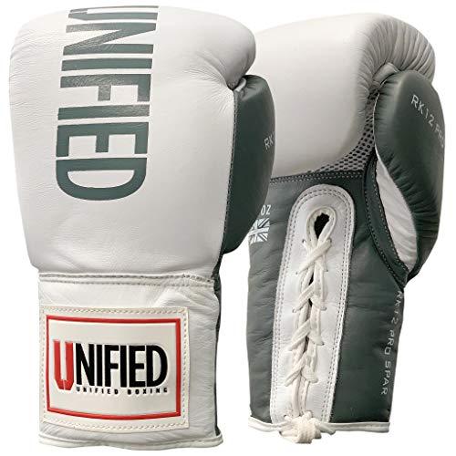 RK12 Pro Standard Sparring - Guantes de boxeo con cordones (