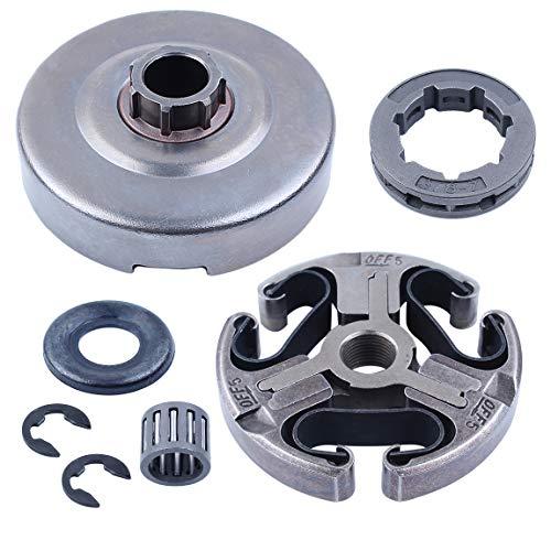 Haishine Clutch Drum Ritzel-Scheibenwaschlagersatz für Husqvarna 365 372 XP 372XP 371 362 Kettensägen-Teile 3/8