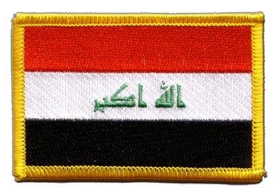 Aufnäher Patch Flagge Irak 2009-8 x 6 cm