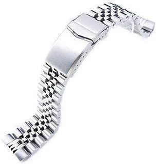 Bracciale per orologio Strapcode 22mm Super 3D Jubilee in acciaio inossidabile 316L per Seiko New Turtles SRP777 e PADI SR...
