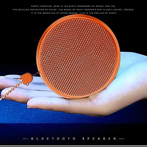 XFSE Orange drahtlose Bluetooth-Lautsprecher Outdoor-Sport tragbare Mini-Stereo-Subwoofer