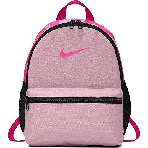 Nike Y NK BRSLA JDI Mini BKPK, Zaino Unisex Bambino, Multicolore (Pink Foam/Laser Fuchsia/Laser Fuchsia), 45 Centimeters