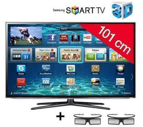 Samsung televisor LED Smart TV 3d UE40ES6300 + 3 años de garantía: Amazon.es: Electrónica