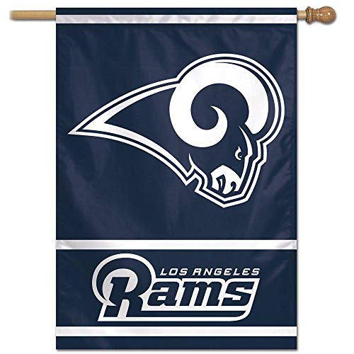 Wincraft NFL Los Angeles Rams 28-by-40-Inch Vertical Flag, Team Color