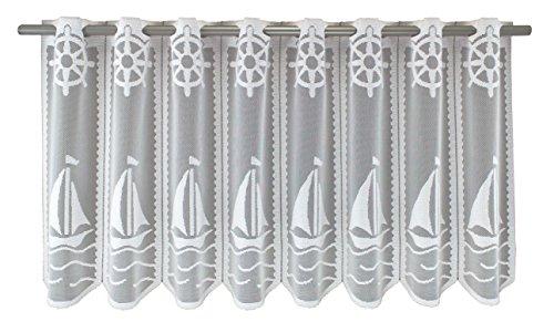 Anna Cortina Boot Gardine, Stoff, weiß, 60 x 100 cm