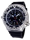 Tauchmeister - Reloj XXL 52 mm – 1000 m – Reloj militar de buceo con cristal de zafiro...