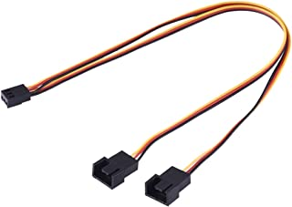 Network parts 1 to 2 3 Pin Computer Components Chassis Fan Cable, Length: 30cm