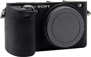 Easy Hood Schutzhülle für Sony Alpha A6500 ILCE 6500 Digitalkamera, kratzfestes weiches Silikongehäuse, Schutzhülle für Sony Alpha A6500 (schwarz)