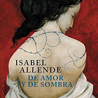 De amor y de sombra [Of Love and Shadows] cover art