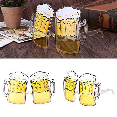 XuBa Oktoberfest Feestartikelen Bier Festival Feest Bier Bril Hop Bier Mok Bril