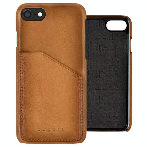 Bugatti Londra Designed für iPhone SE (2020), iPhone 7/8 Hülle, Etches Leder Schutzhülle - Braun