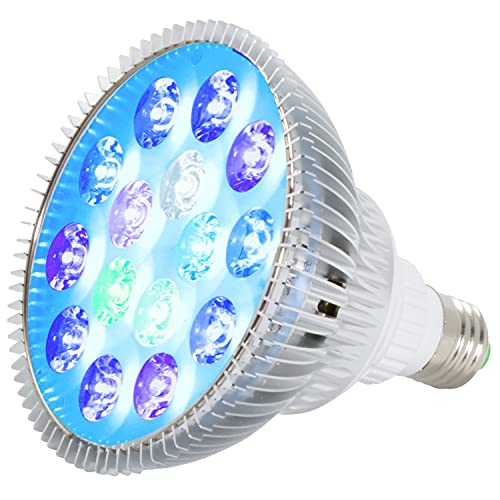 ABI 12W Tuna Blue LED Bulb Coral Reef...