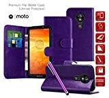 Motorola Moto X Force Cases Phone Cover [Wallet Case Card