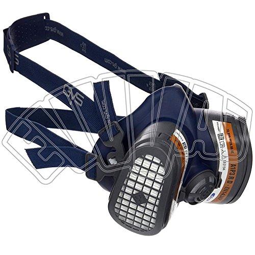 Halbmaske Elipse A1P3 - TG M/L - Halbmaske Schutz Gas-Staub - GVS