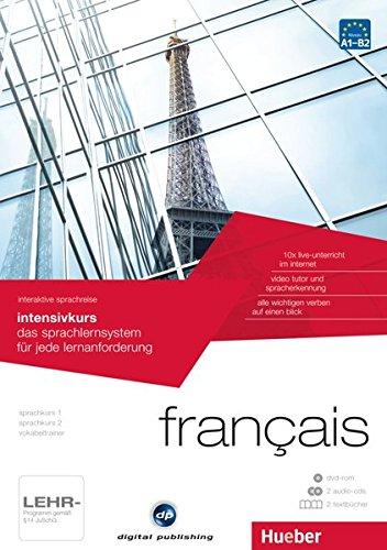 interaktive sprachreise intensivkurs français: das sprachlernsystem für jede lernanforderung / Paket: 1 DVD-ROM + 2 Audio-CDs + 2 Textbücher (Interaktive Sprachreise digital publishing)